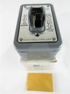 New Crouse Hinds 7810gd Manual Contactor Wiring Devices