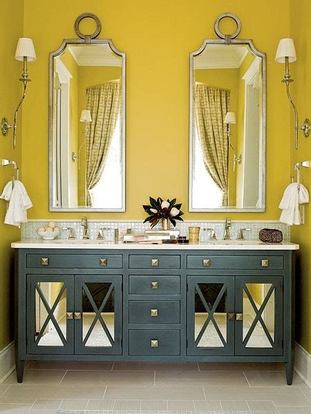 Yellow And Gray Bathroom Wall by Color Psychology Feng Shui Decorating Yellow Walls