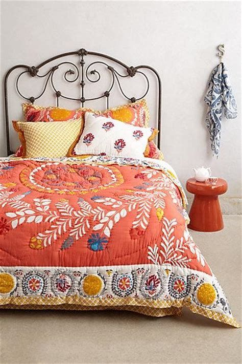 Zocalo Embroidered Coral Pink Quilt