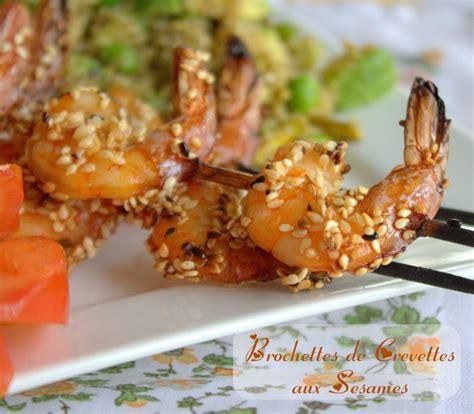 de amour de cuisine brochettes de crevettes grillées aux sésames amour de