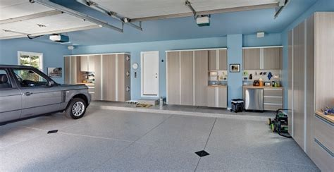 kitchen cabinet garage don t let the cold weather discourage you concrete 2520