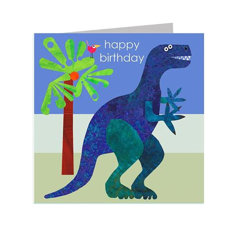 Check spelling or type a new query. Happy Birthday Dinosaur Card By Kali Stileman Publishing | notonthehighstreet.com