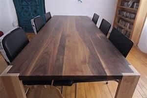 Table En Noyer : table noyer ~ Teatrodelosmanantiales.com Idées de Décoration