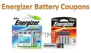 Energizer Batteries Coupons