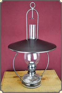 Hanging Victorian Style Oil Or Kerosene Lamp Small