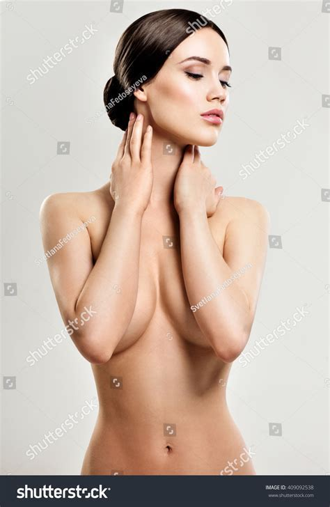 Beautiful Young Woman Clean Skin Nude Stock Photo Shutterstock