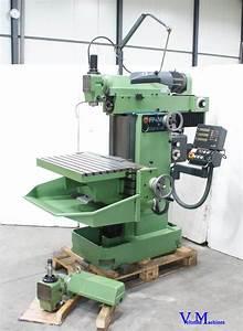 Deckel Fp4m Universal Milling Machine