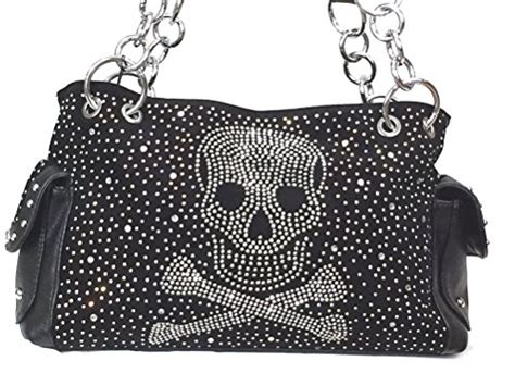 Ladies Conceal And Carry Skull Purses And Handbags For