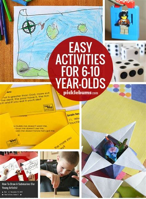 christmas crafts for 10 year olds ten easy activities for 6 10 year olds top activities for 6 year olds