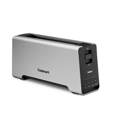 one slot toaster cuisinart 2 slice aluminum slot toaster bloomingdale s