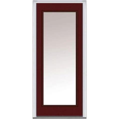 30 x 80 exterior door with window milliken millwork 30 in x 80 in clear glass lite