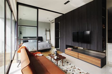 chic room decor 5 stylish open concept homes that use of glass panels
