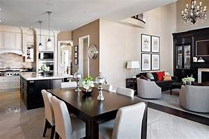 Count them creative methods to decorate a living room for Interior design living dining room combination