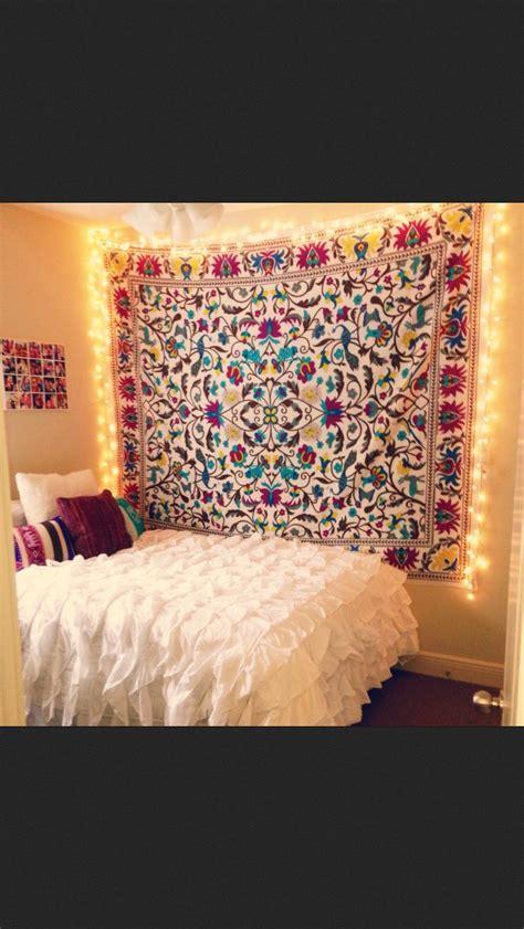 Hang Tapestry In Dorm Room  Home Decor Pinterest
