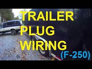Trailer Plug Wiring F250 F150 F350