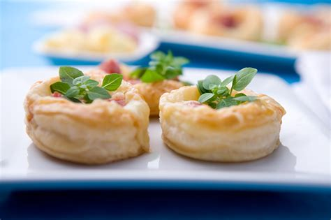 ham cheese puff pastry tartlets bites are