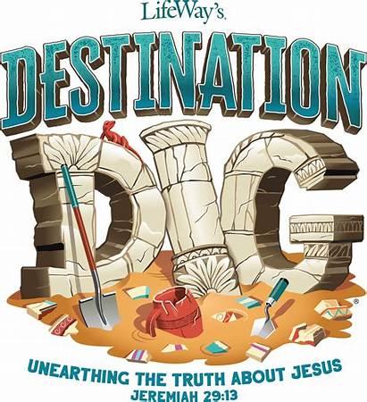 Vbs Lifeway Theme Dig Destination Jesus Help