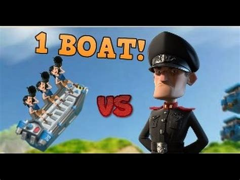 Boom Beach Boat by Boom Beach Imitation Game Challenge 1 Boat Per Stage