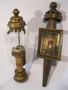 Lampe En Cuivre : lampe de carrosse en laiton lampe de mod le train en cuivre catawiki ~ Carolinahurricanesstore.com Idées de Décoration