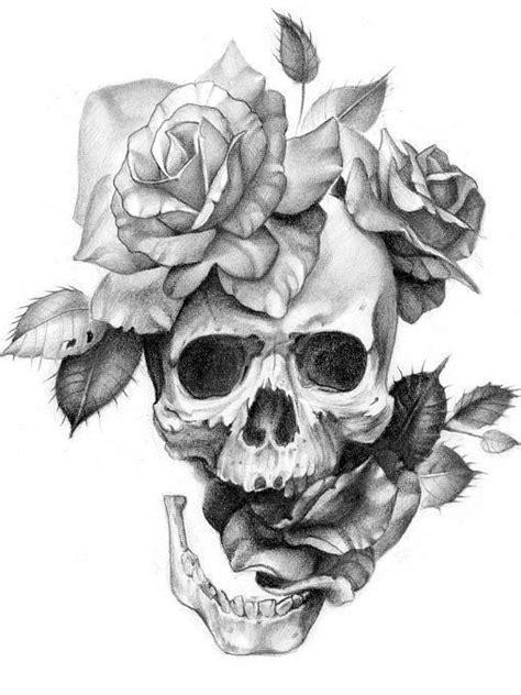 Pin by Dee Cae on Tatted ideas | Skull rose tattoos, Tattoo drawings, Skull art