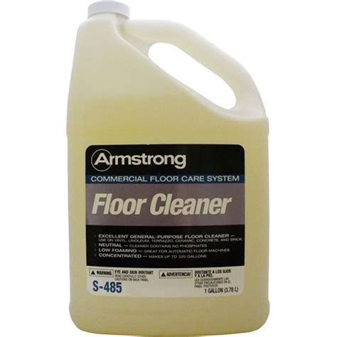 Armstrong Tile And Vinyl Floor Cleaner Msds by Armstrong S485 Commercial Floor Cleaner