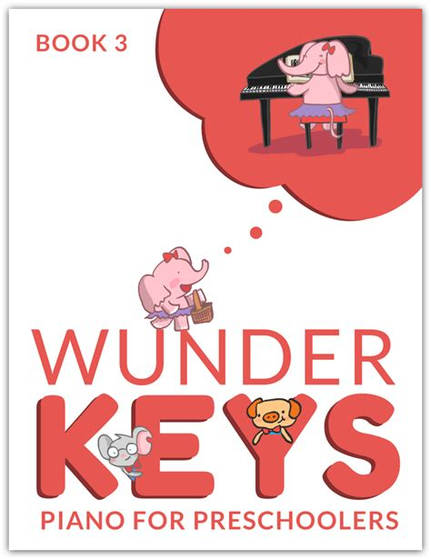 wunderkeys piano for preschoolers book 3 wunderkeys 994 | Book 3 Image Test