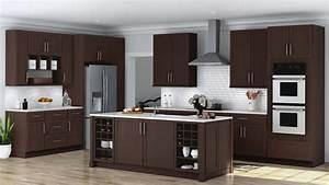 Shaker Specialty Kitchen Cabinets In Java  U2013 Kitchen  U2013 The