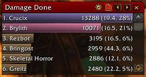 Wow Damage Charts Recount Wow Addons Dkpminus