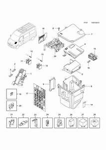 894b Vauxhall Movano Fuse Box