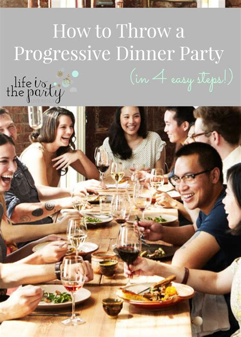 How To Throw A Progressive Dinner Party