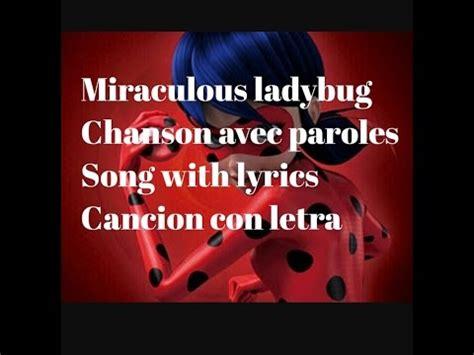 chanson de no235l miraculous ladybug chanson avec paroles en fran 231 ais