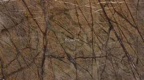 rain forest brown marble stoneply