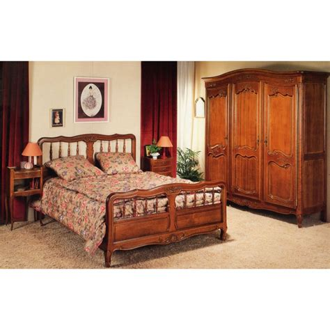 style chambre coucher chambre régence merisier 405 meubles de normandie