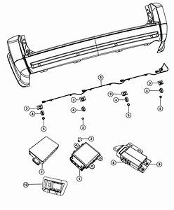 Chrysler Town  U0026 Country Module  Blind Spot Detection  Park