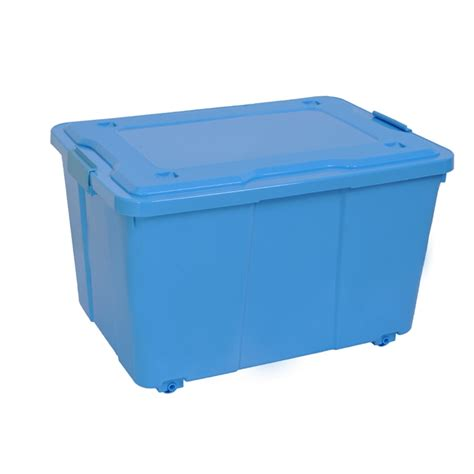 Montgomery 50l Plastic Storage Container With Wheels