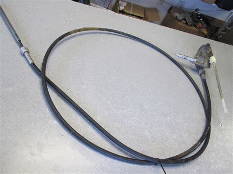 How To Boat Steering Cable by Teleflex 14 Rotary Boat Helm Steering Cable Ebay
