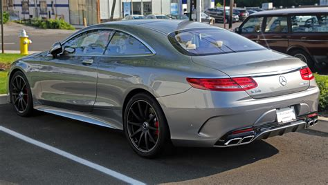 2015 S63 Amg Coupe by File 2015 Mercedes S63 Amg Coup 233 Rear Left Us Jpg