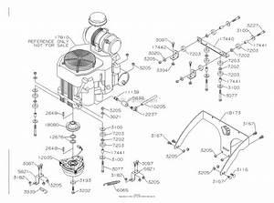Dixon Grizzly 60  2005  Parts Diagram For Engine  Kohler 25hp