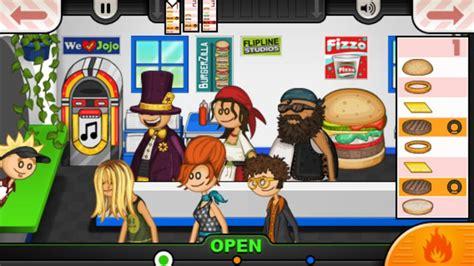 jeux de cuisine papa cupcakeria papa 39 s burgeria to go aplicaciones de android en