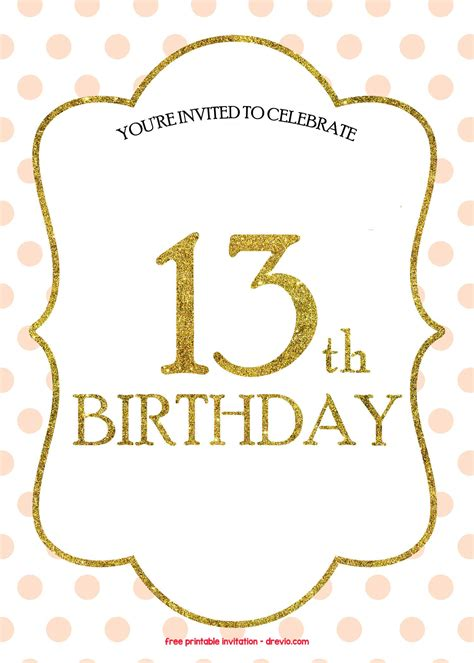 birthday invitations templates  printable