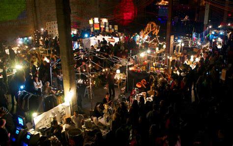 New Market Concept  Night Bazaar