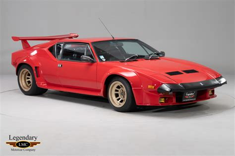 De Tomaso Pantera Gt5 by 1985 De Tomaso Pantera Gt5 One Of Only 224 Pantera Gt5s