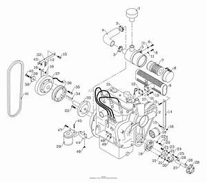 Kubota Engine Parts Diagram D1105