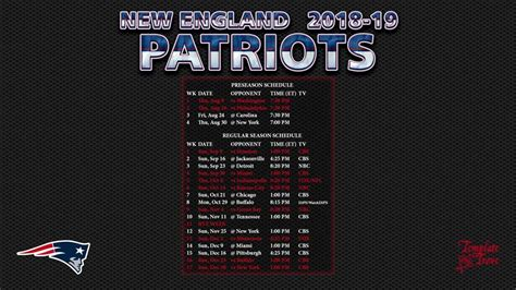 england patriots wallpaper schedule