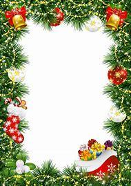 transparent christmas borders and frames - Christmas Borders