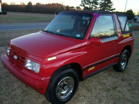 geo tracker 90 geo tracker 4x4 convertible sidekick rare lsi towing