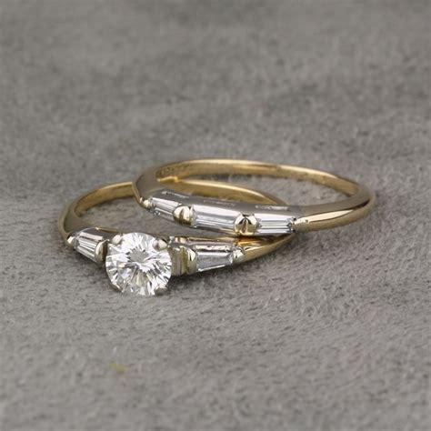 pre owned diamond wedding set pre owned diamond wedding set