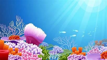 Underwater Ocean Wallpapers Backgrounds Wallpaperaccess