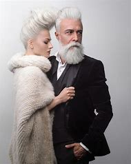 Men with Gray Hair and Beards
