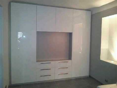 Armoire Sur Mesure Conforama by Meuble Tv Design En M 233 Dium Laqu 233 Blanc Brillant Living